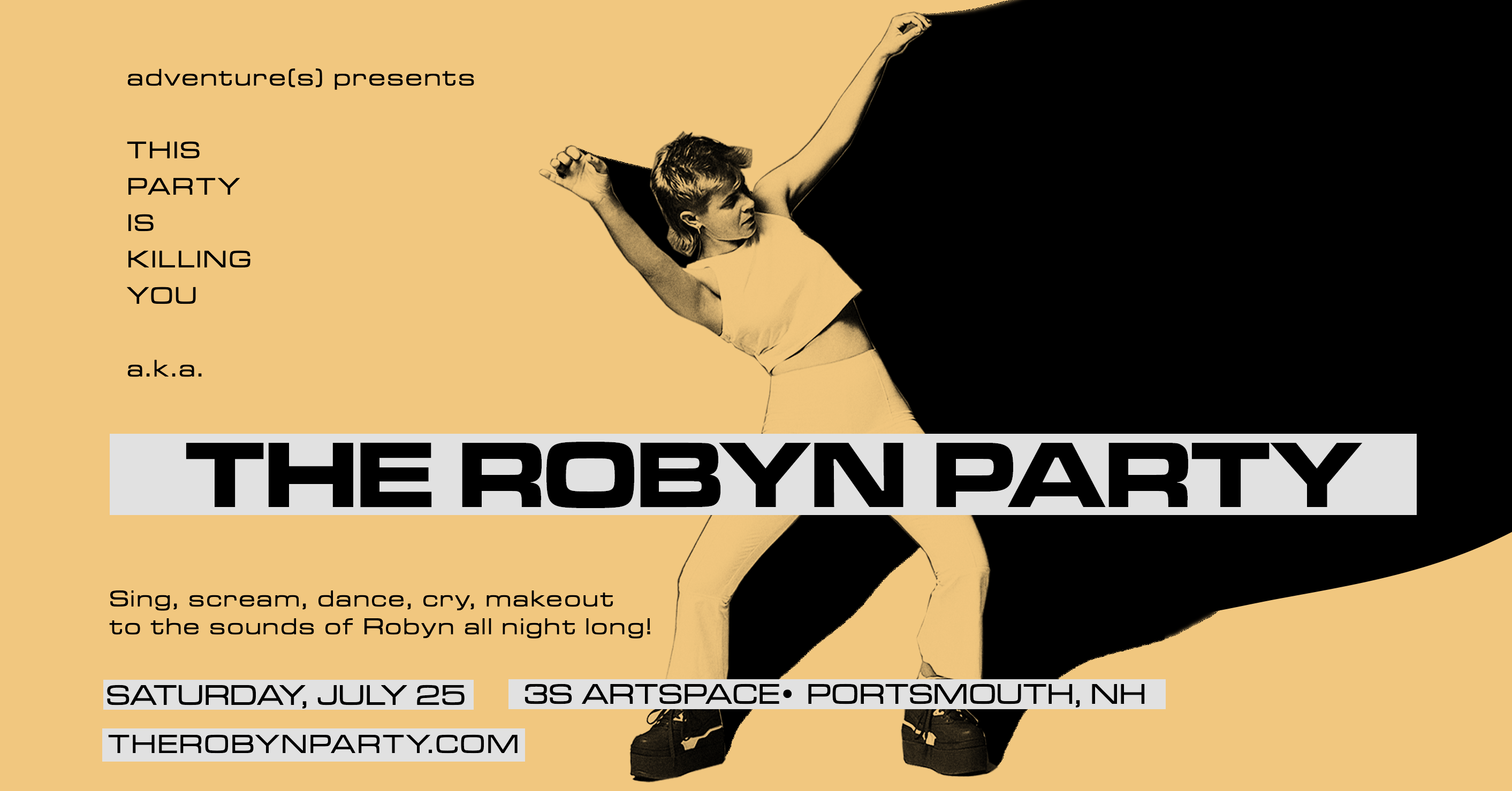 The Robyn Party @ 3@ Artspace – Portsmouth, NH